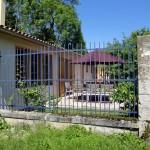 La terrasse du gite près de Revigny-sur-Ornain et de Saint-Dizier