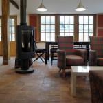 Le salon du gite Via Romana à Nettancourt